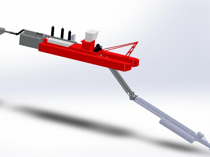 Zandzuiger Italdraghe dredger CSD 400